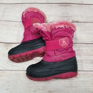 Toddler size 8 KAMIK snow boots